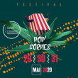 Pop Cornes Festival / Vendredi 29 Mai 2020 à LE RUSSEY - Billets & Places