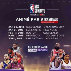 NBA SUNDAYS #2 / L.A. LAKERS - NEW YORK @ L'ANTENNE - PARIS