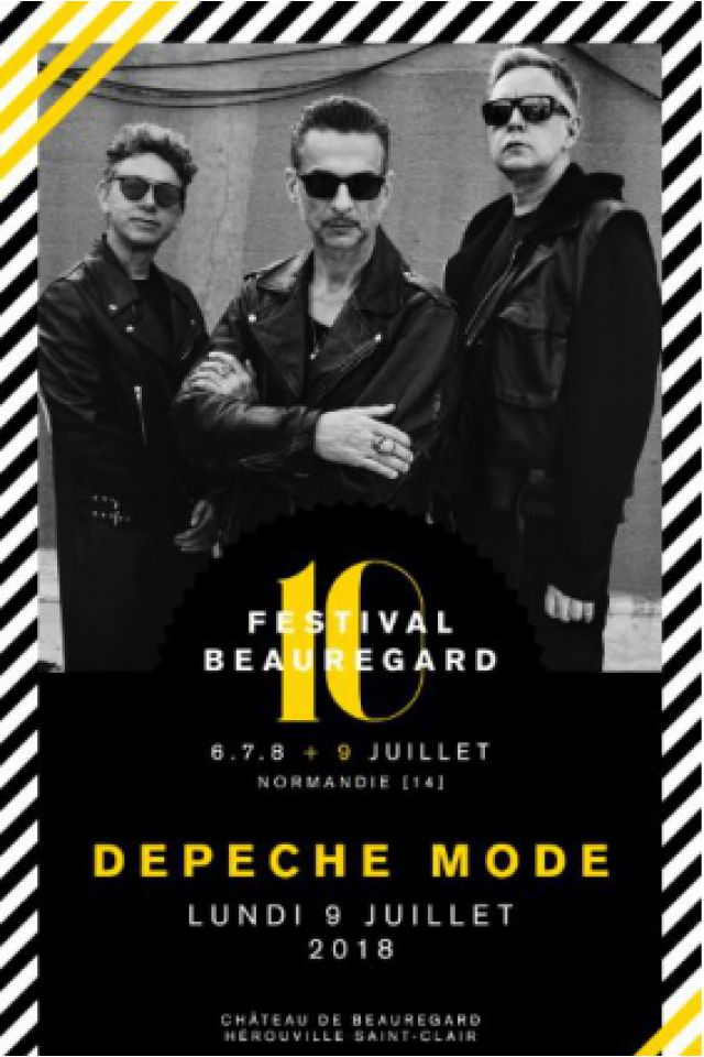 The Day After - Depeche mode @ Chateau de Beauregard - HÉROUVILLE SAINT CLAIR