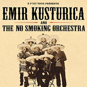 EMIR KUSTURICA & THE NO SMOKING ORCHESTRA @ Casino de Paris - Paris