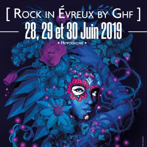 Rock In Evreux By Ghf 2019 - Pass 3 Jours