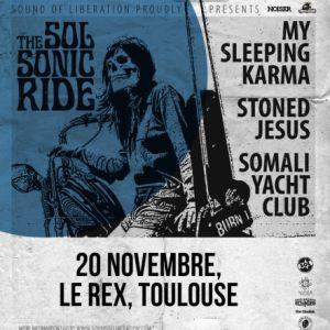 My Sleeping Karma & Stoned Jesus & Somali Yacht Club | Le Rex