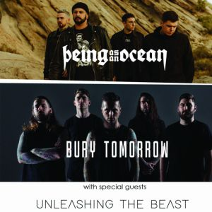 BEING AS AN OCEAN + BURY TOMORROW + UNLEASHING THE BEAST + Guest @ RED STUDIO - DOUAI