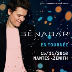 BENABAR @ ZENITH NANTES METROPOLE - Saint Herblain