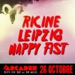 Concert HAPPY FIST x RICINE x LEIPZIG