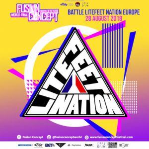 BATTLE LITEFEET NATION @ La Place - PARIS