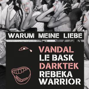 VANDAL + LE BASK + DARKTEK + REBEKA WARRIOR @ L'AERONEF - LILLE