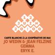 Concert SOIRÉE COOPÉ DE MAI : ERYK E - GEMMA - JO WEDIN & JEAN FELZINE à Paris @ Les Trois Baudets - Billets & Places