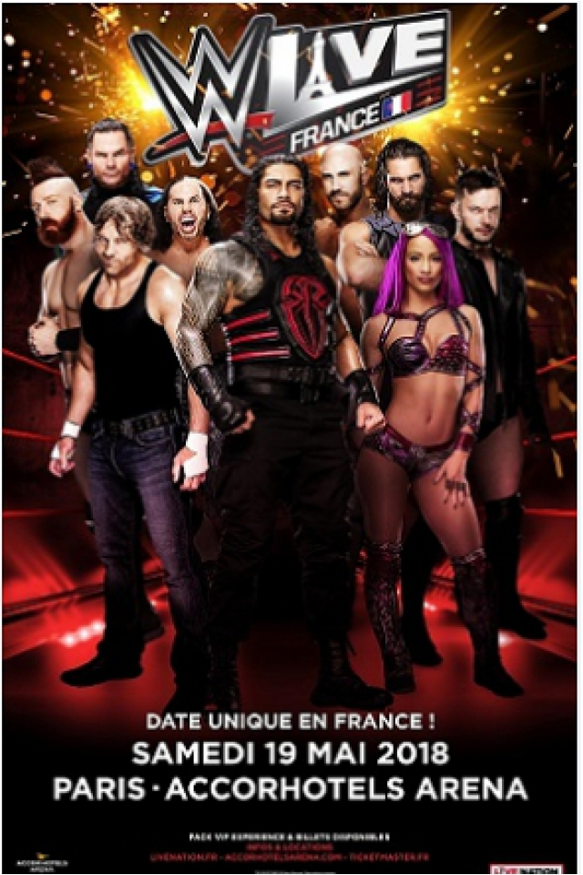 WWE LIVE @ ACCORHOTELS ARENA - PARIS 12