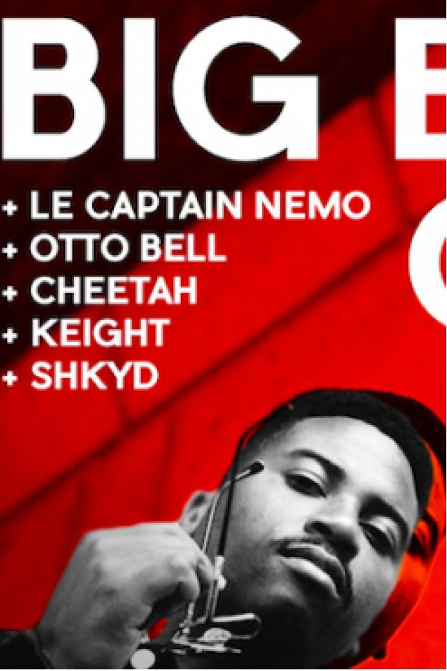 SURL Club : Big Buddha Cheez, Captain Nemo, Keight @ Wanderlust - PARIS