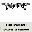 Concert Dragonforce à TOULOUSE @ LE METRONUM - Billets & Places