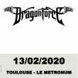 Concert Dragonforce à TOULOUSE @ LE METRONUM - Billets & Places