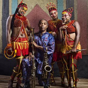 FEMI KUTI AND THE POSITIVE FORCE + MO LAUDI @ L'AERONEF - LILLE