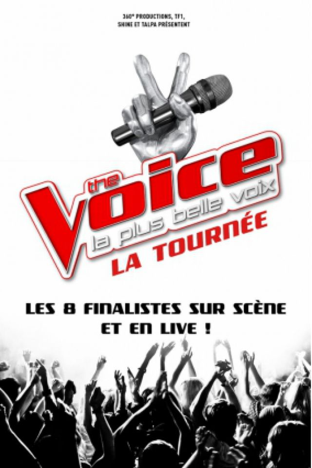 THE VOICE, LA TOURNEE @ Zénith de Rouen - Le Grand Quevilly