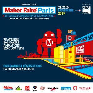 Maker Faire Paris (+Accès Expositions)