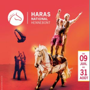 """CAVALCADES ESTIVALES"" SPECTACLE (16h) + ANIMATIONS + EXPOS @ Haras national - HENNEBONT"