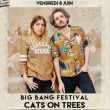Affiche Cats on trees