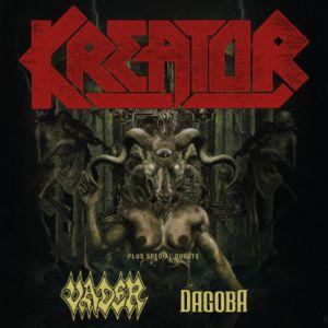 Concert Gods of Violence Tour : Kreator + Dagoba + Vader