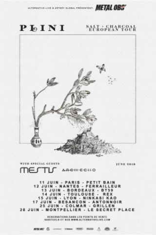 Concert PLINI + MESTIS + ARCH ECHO + A TIME TO HOPE