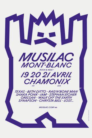 Festival MUSILAC 2018 MONT BLANC - PASS JOUR 3