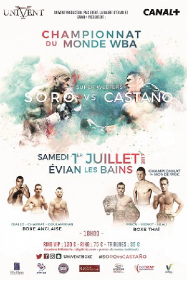 Billets CHAMPIONNAT DU MONDE WBA - Evian Les Bains