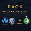Match PACK Matchs de Gala
