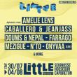 PASS 3 JOURS - 01, 02 & 03 AOUT - LITTLE FESTIVAL #3 à SEIGNOSSE @ LE TUBE - LES BOURDAINES - Billets & Places