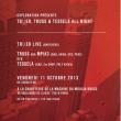 Soirée Exploration présente TR\\ER - Truss & Tessela  à Paris @ La Machine du Moulin Rouge - Billets & Places