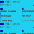 Concert Midi artists birthday w/ Requin Chagrin & guests