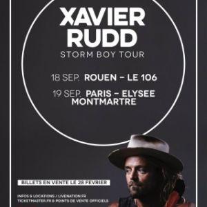 XAVIER RUDD @ ELYSEE MONTMARTRE - PARIS