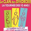 Théâtre LE CLAN DES DIVORCEES