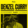 Concert Denzel Curry à Paris @ La Cigale - Billets & Places
