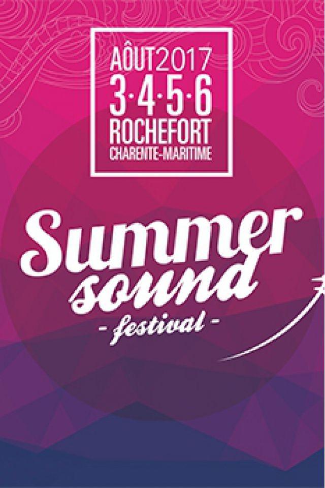 Summer Sound Festival 2017 - Pass 4 jours + Camping @ La Corderie Royale - ROCHEFORT