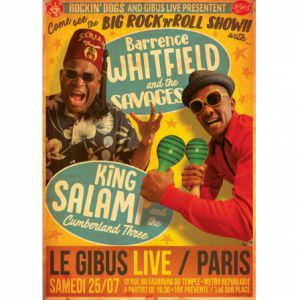Barrence Whitfield & The Savages + King Salami