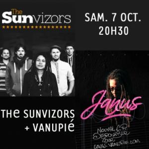 THE SUNVIZORS + VANUPIE @ LE RACK'AM - Brétigny sur Orge