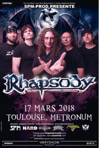 Concert RHAPSODY 20TH ANNIVERSARY FAREWELL TOUR