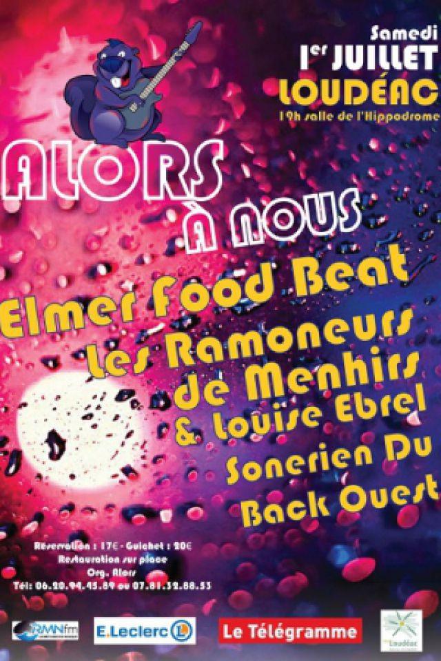 FESTIVAL ALORS A NOUS - LES RAMONEURS DE MENHIRS/ELMER FOOD BEAT @ Hippodrome Loudeac - LOUDÉAC