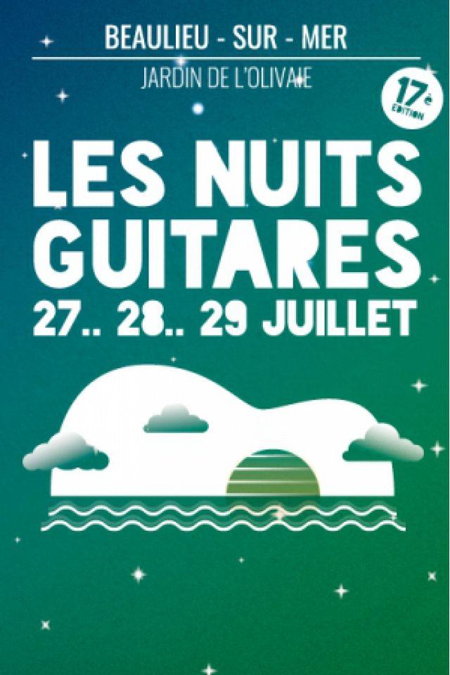 Les Nuits Guitares Pass 3 Jours @ Jardin de l'Olivaie - BEAULIEU SUR MER