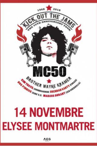 Billets MC50 - ELYSEE MONTMARTRE PARIS