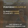 Concert JOSHUA RADIN