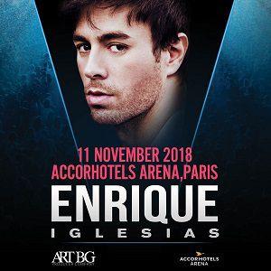 ENRIQUE IGLESIAS @ ACCORHOTELS ARENA - PARIS