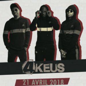 4KEUS EN CONCERT @ La Cigale - Paris