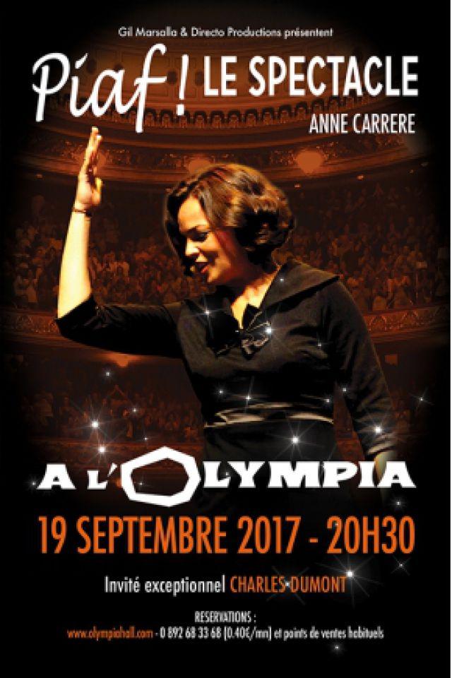 PIAF ! LE SPECTACLE  @ L'Olympia - Paris