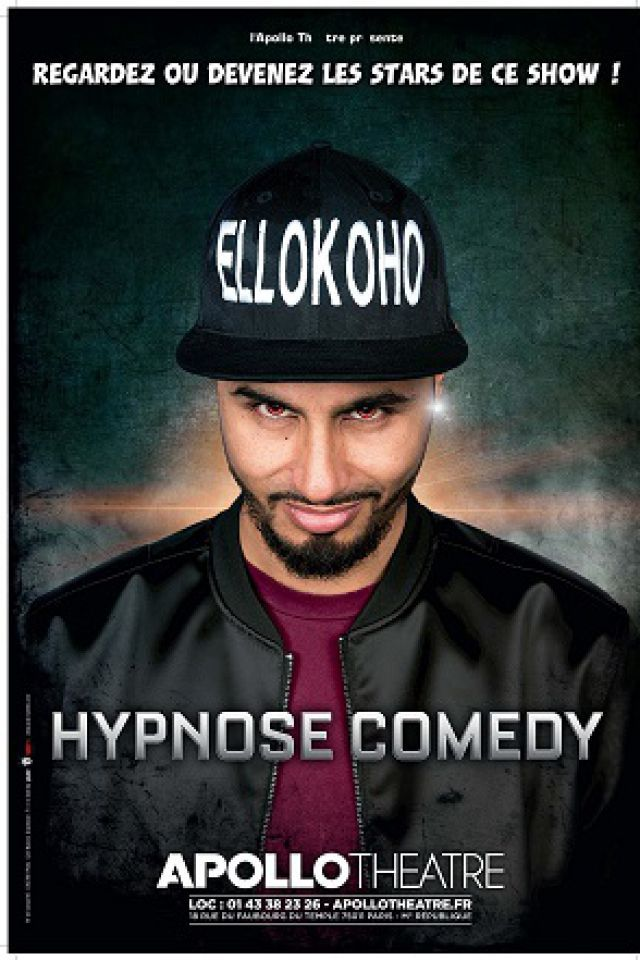 HYPNOSE COMEDY @ APOLLO THEATRE - PARIS
