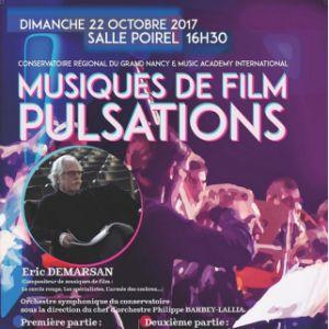 Billets MUSIQUES DE FILM PULSATIONS - SALLE POIREL NANCY