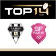Match CA BRIVE - STADE FRANCAIS PARIS