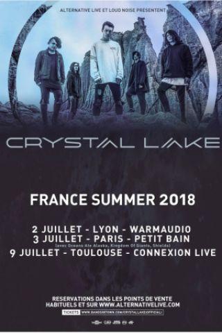 Concert CRYSTAL LAKE + LANDMVRKS à Toulouse @ Connexion Live - Billets & Places