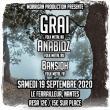 Concert Graï + Anabioz + Bansidh à Nantes @ Le Ferrailleur - Billets & Places