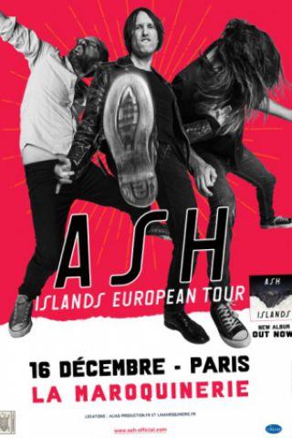 Concert Ash à PARIS @ La Maroquinerie - Billets & Places