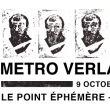 Affiche Metro verlaine